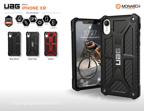 Op lung iPhone XR UAG Monarch Series 01 bengovn