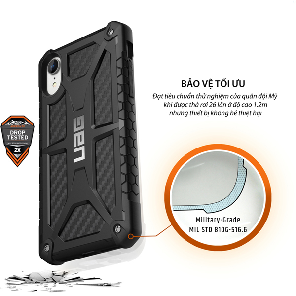 Op lung iPhone XR UAG Monarch Series 04 bengovn