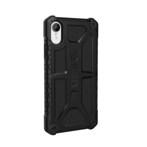 Op lung iPhone XR UAG Monarch Series Black 04 bengovn