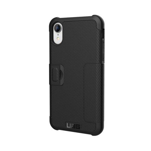 op lung iPhone XR UAG Metropolis Series Black 03 bengovn