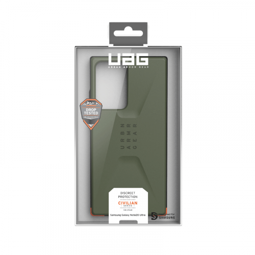 Op lung Samsung Galaxy Note 20 Ultra UAG Civilian Series 07 bengovn