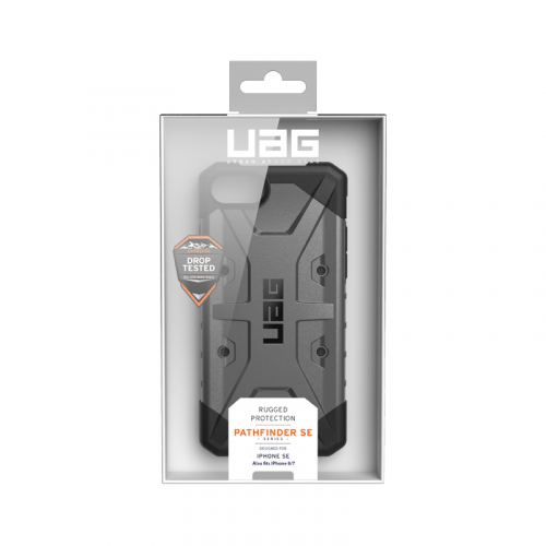 Op lung iPhone SE 2020 UAG Pathfinder Series Silver 14 bengovn