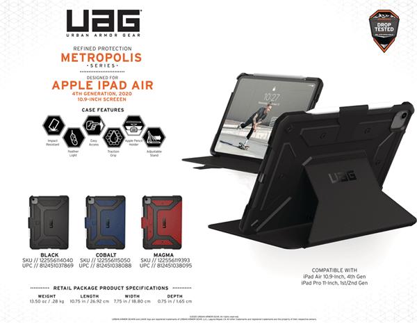 Bao da iPad Air 4 2020 UAG Metropolis 35 bengovn