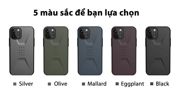 Op lung iPhone 12 Pro Max UAG Civilian Series 26 Bengovn