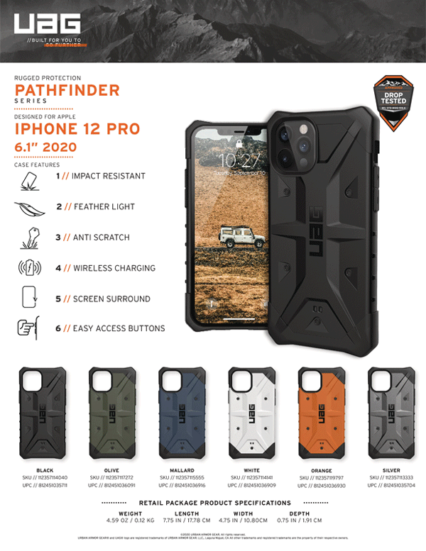 Op lung iPhone 12 iphone 12 Pro UAG Pathfinder Series 26 Bengovn