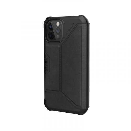 Bao da iPhone 12 12 Pro UAG Metropolis Series LTHR Black 07 bengovn