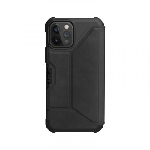Bao da iPhone 12 12 Pro UAG Metropolis Series LTHR Black 08 bengovn