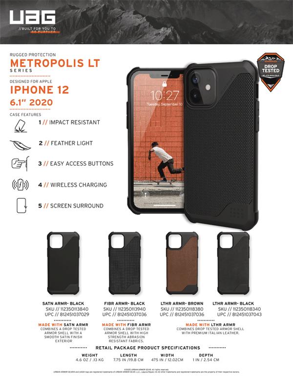 Op lung iPhone 12 12 Pro UAG Metropolis LT Series 23 bengovn