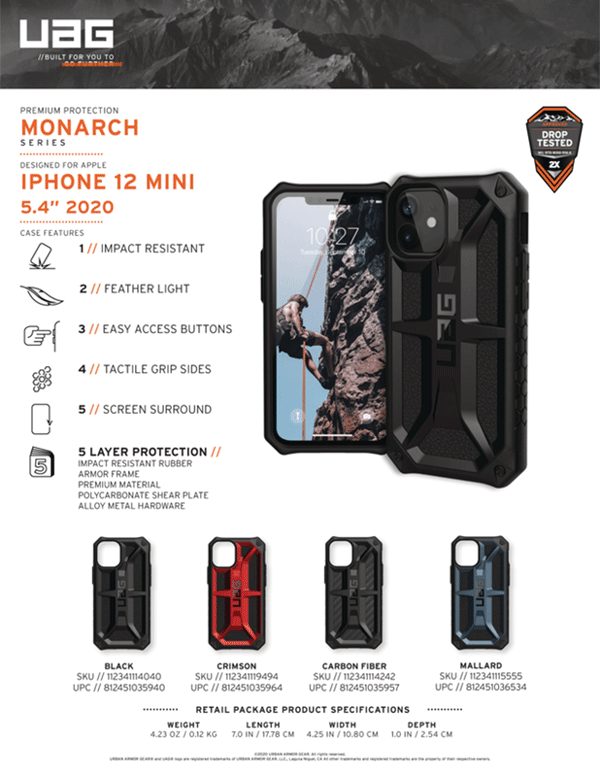 Op lung iPhone 12 Mini UAG Monarch Series 25 bengovn