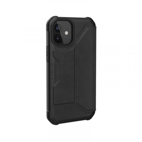 Bao da iPhone 12 Mini UAG Metropolis Series Leather Black 07 bengovn