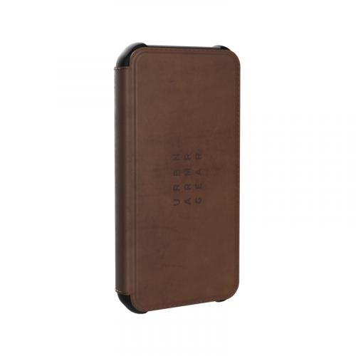 Bao da iPhone 12 Mini UAG Metropolis Series Leather Brown 10 bengovn