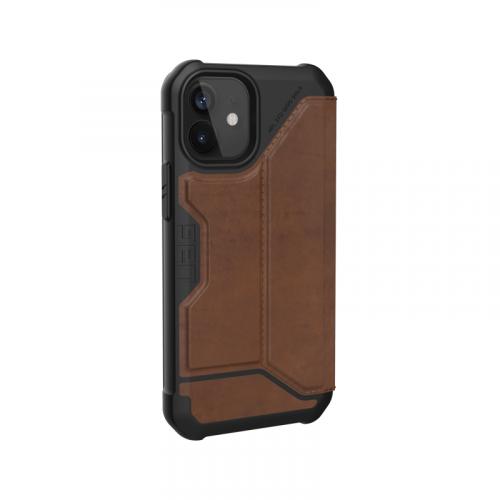 Bao da iPhone 12 Mini UAG Metropolis Series Leather Brown 12 bengovn