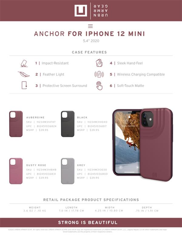 U Op lung UAG Anchor iPhone 12 Mini 27 bengovn