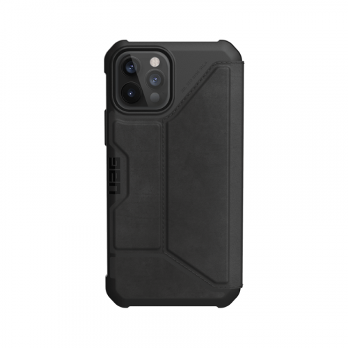 Bao da iPhone 12 Pro Max UAG Metropolis Series LTHR Black 08 bengovn