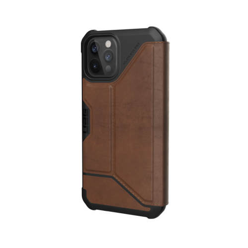 Bao da iPhone 12 Pro Max UAG Metropolis Series LTHR Brown 11 bengovn
