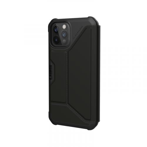 Bao da iPhone 12 Pro Max UAG Metropolis Series SATN Black 14 bengovn