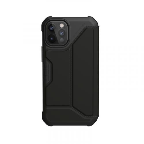 Bao da iPhone 12 Pro Max UAG Metropolis Series SATN Black 15 bengovn