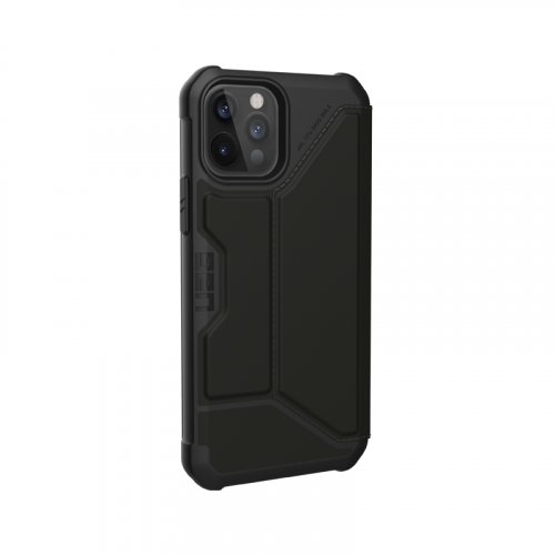 Bao da iPhone 12 Pro Max UAG Metropolis Series SATN Black 16 bengovn