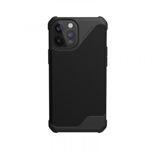 Op lung iPhone 12 Pro Max UAG Metropolis LT Series LT Series SATN Black 15 bengovn