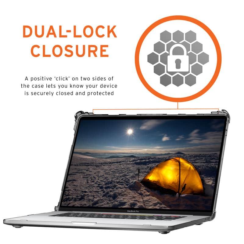 Vo op bao ve Macbook Pro 13 2020 UAG Plyo 15 bengovn