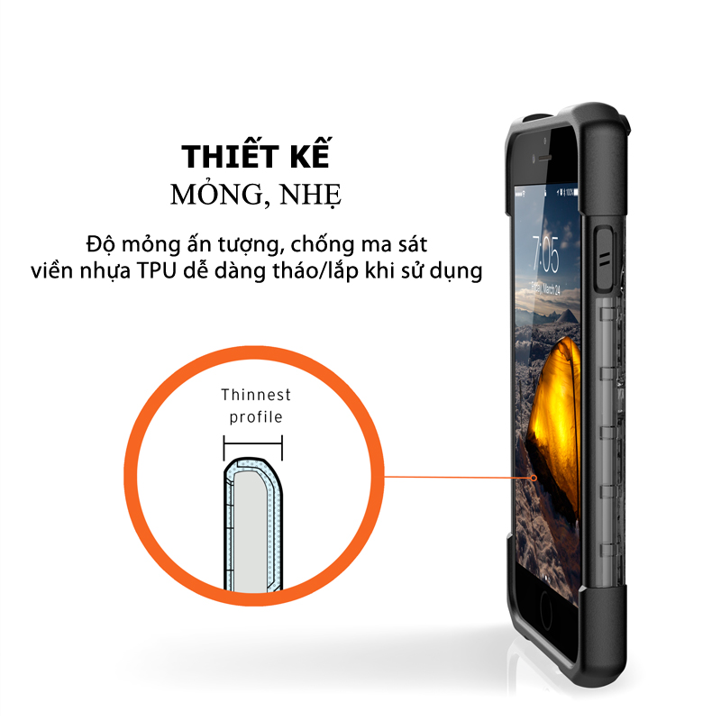Op lung iPhone SE 2020 UAG Plasma 17 bengovn