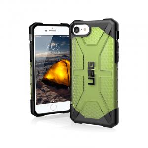 Op lung iPhone SE 2020 UAG Plasma Series Neon 01 bengovn