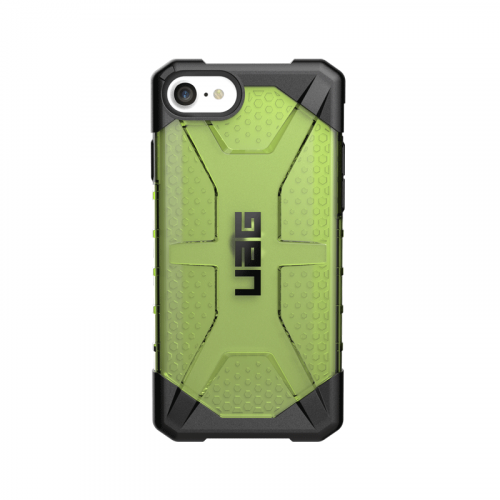 Op lung iPhone SE 2020 UAG Plasma Series Neon 02 bengovn