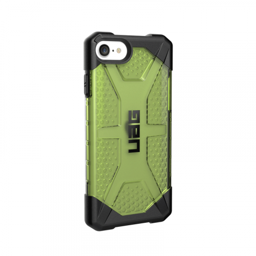 Op lung iPhone SE 2020 UAG Plasma Series Neon 03 bengovn