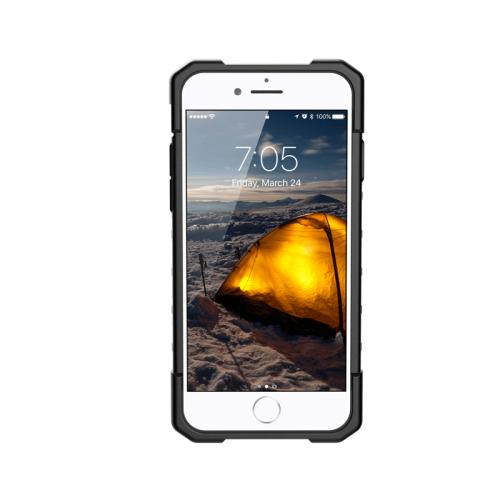 Op lung iPhone SE 2020 UAG Plasma Series Neon 04 bengovn