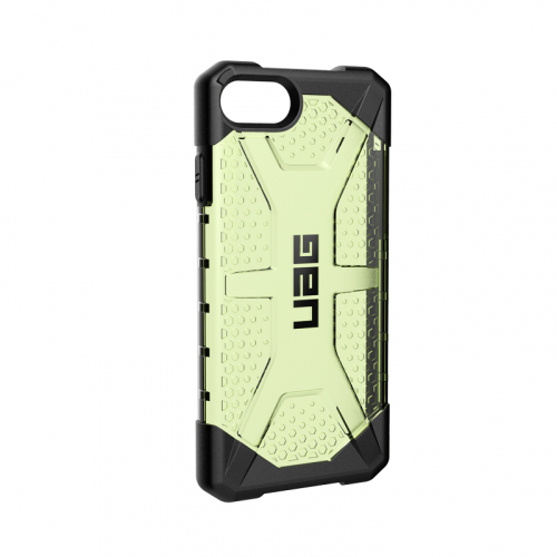 Op lung iPhone SE 2020 UAG Plasma Series Neon 06 bengovn