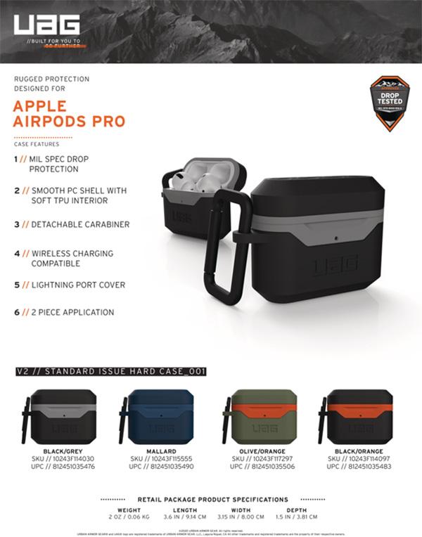 Vo op Airpods Pro UAG Hard Case V2 44 bengovn