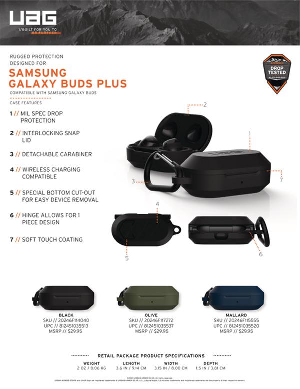 Op Samsung Galaxy Buds Buds UAG Hard Case 34 bengovn1